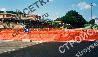 Сетка для ограждения стройплощадки Лабор фото