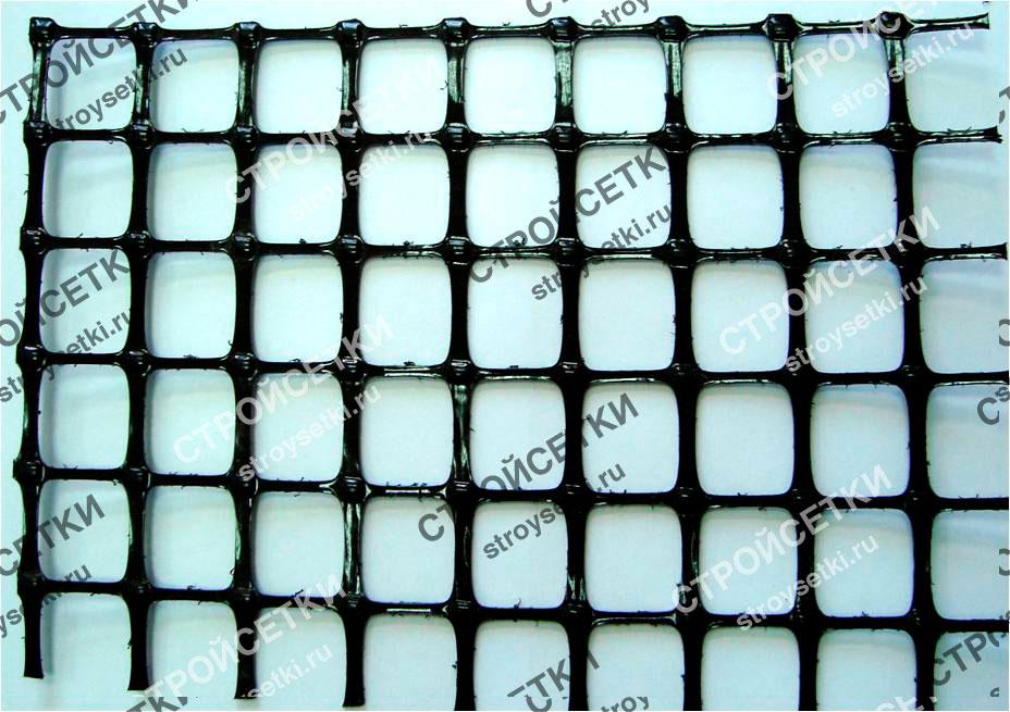 Геосетка дорожная полимерная Д-33 фото