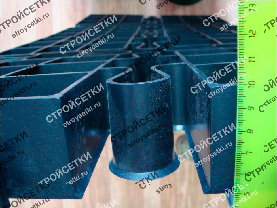 Газонная решетка пластиковая фото